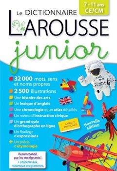 Livres Couvertures de Larousse dictionnaire Junior 7/11 ans