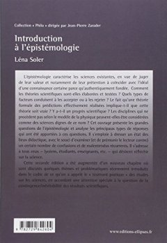 Livres Couvertures de Introduction à l'épistémologie