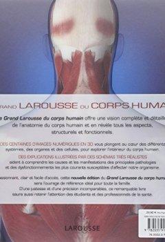 Livres Couvertures de Le Grand Larousse du corps humain - Nouvelle édition