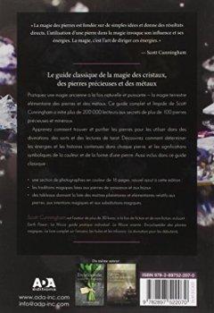 Livres Couvertures de Encyclopédie de la magie des cristaux, des pierres précieuses et des métaux