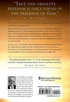 Buchdeckel von Experiencing the Presence of God: Teachings from the Book of Hebrews