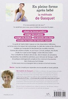 Livres Couvertures de En pleine forme après bébé: La méthode de Gasquet