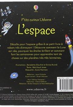 Livres Couvertures de L'espace - P'tits curieux Usborne