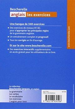 Livres Couvertures de Bescherelle anglais : Les exercices