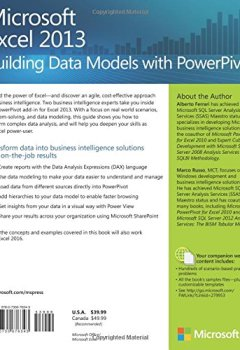 Livres Couvertures de Building Data Models with PowerPivot: Microsoft® Excel® 2013