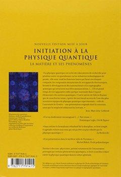 Livres Couvertures de Initiation à la physique quantique : La matière et ses phénomènes