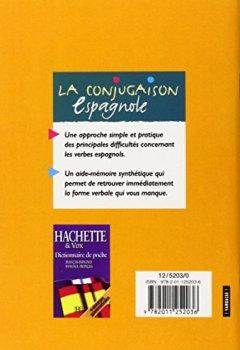 Livres Couvertures de La conjugaison espagnole