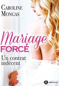Livres Couvertures de Mariage forcé:  Un contrat indécent