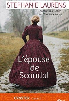 Livres Couvertures de L'épouse de Scandal: Cynster tome 3
