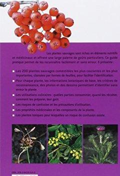 Livres Couvertures de Plantes sauvages comestibles : Les 200 espèces courantes les plus importantes. Les reconnaitre, les récolter, les utiliser