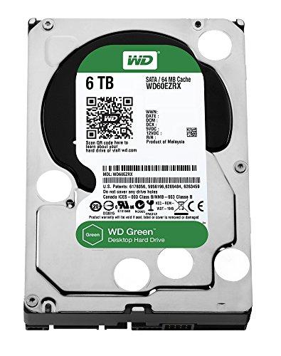 WD 内蔵HDD Green 6TB 3.5inch SATA6.0 64MB Inteilipower WD60EZRX