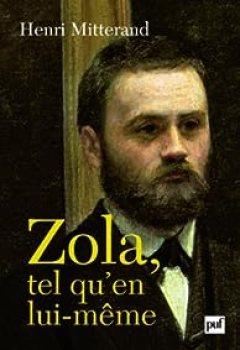 Livres Couvertures de Zola tel qu'en lui-même