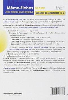 Livres Couvertures de Mémo-fiches DEAMP: Aide médico-psychologique