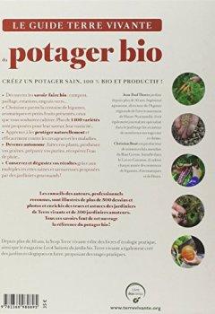 Livres Couvertures de Le guide terre vivante du potager bio : Cultiver, soigner, conserver