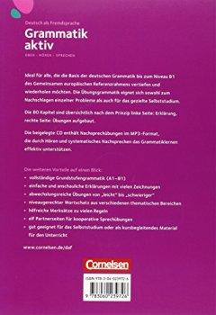 Livres Couvertures de Grammatik Aktiv: Ubungsgrammatik MIT Eingelegter Hor-cd