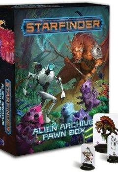 Livres Couvertures de Starfinder Pawns: Alien Archive Pawn Box