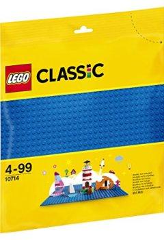 Livres Couvertures de Lego Classic - La plaque de base bleue - 10714 - Jeu de Construction