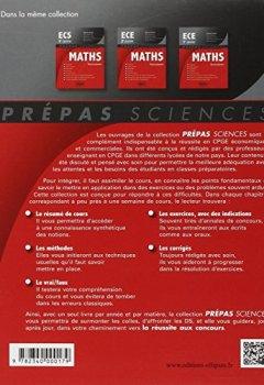 Livres Couvertures de Maths ECS 2e Année Programme 2014