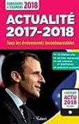 Actualité 2017-2018 - Concours et examens 2018 - Tous les événements incontournables