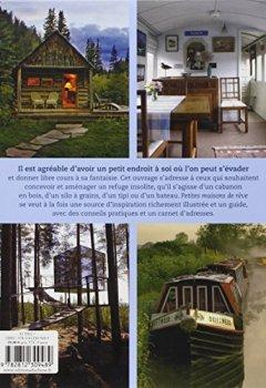 Livres Couvertures de Petites maisons de rêve: Cabane, yourte, caravane, tente, péniche, roulotte...