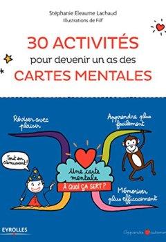 Livres Couvertures de 30 activités pour devenir un as des cartes mentales