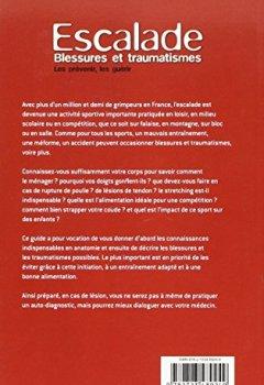 Livres Couvertures de Escalade, blessures et traumatismes : Les prévenir, les guérir