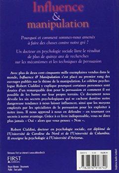 Livres Couvertures de Influence et manipulation : Comprendre et maîtriser les mécanismes et les techniques de persuasion