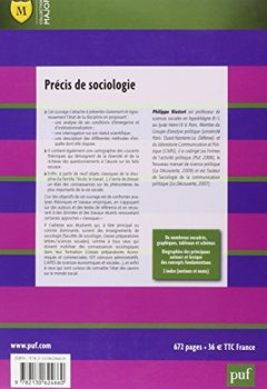 Livres Couvertures de Précis de sociologie