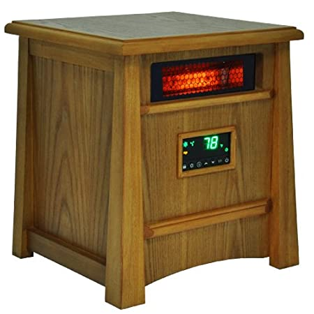 This Life Lux Infrared heater is our top of the line infrared Heater. The revolutionary design offers you safe & healthy heat for an extra-large room. This deluxe heater and features 8 of our quartz infrared elements that are wrapped in a metal heat ...