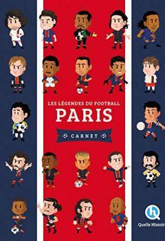 Livres Couvertures de Les légendes du football Paris