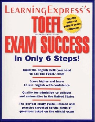 Toefl Exam Success in only 6 steps  sách rất hay về toefl is useful for toefl english exam