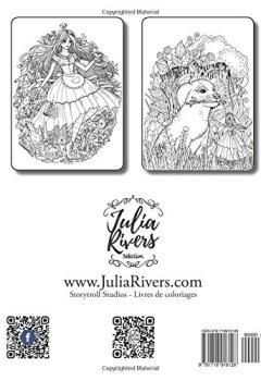 Livres Couvertures de Alice au pays des merveilles: Livre de coloriage pour adultes et enfants (inspiration, relaxation, méditation)