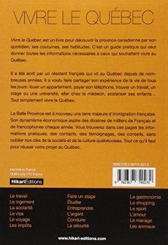 Livres Couvertures de Vivre le Québec