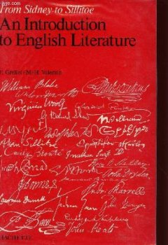 Livres Couvertures de From Sidney to Sillitoe : An introduction to English literature