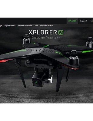 ANDP-XIRO-Zero-Xplorer-V-Professional-FPV-58G-4-Axis-RC-Quadcopter-Drone-with-1080P-Camera-mode-1-black