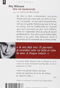 Livres Couvertures de Une vie bouleversée, suivi de lettres de Westerbork : Journal 1941-1943