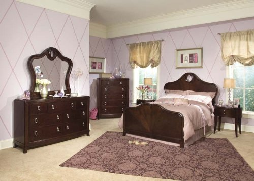 Image of 698 Glamour Girl Signature Panel Bedroom Set by Legacy Classic Kids (B0030NO0I2)