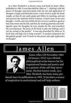 Livres Couvertures de As a Man Thinketh
