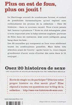 Livres Couvertures de Osez 20 histoires de sexe à plusieurs