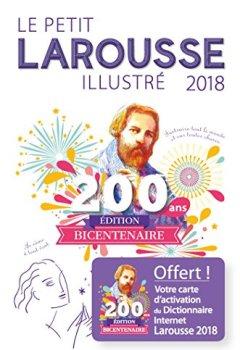 Livres Couvertures de Le petit Larousse illustré 2018