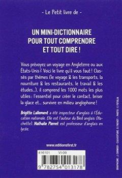 Livres Couvertures de Petit livre de - Les 1 000 mots indispensables en anglais