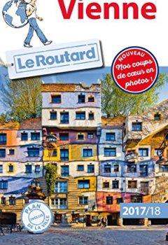 Livres Couvertures de Guide du Routard Vienne 2017/2018