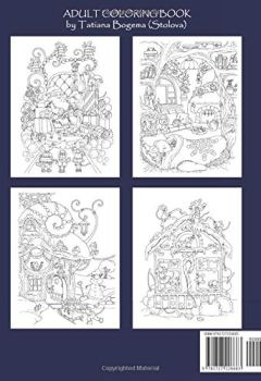 Livres Couvertures de Nice Little Town Christmas 2: Adult Coloring Book (Stress Relieving Coloring Pages, Coloring Book for Relaxation)