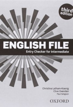 Livres Couvertures de English File Intermediate: Student's Book and Workbook With Answer Key Pack 3rd Edition