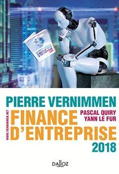 Livres Couvertures de Finance d'entreprise 2018 - 16e éd.