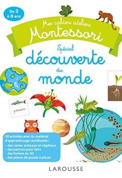 Livres Couvertures de Mes cahiers ateliers Montessori : découverte du monde