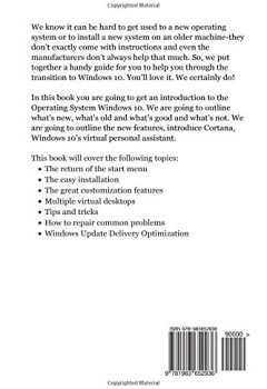 Livres Couvertures de Windows 10: The 2017 Updated User Guide to Master Microsoft Windows 10 with Tips and Tricks
