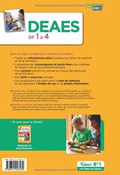 Livres Couvertures de DEAES - Domaines de formation 1 à 4 - Préparation complète pour réussir sa formation - Diplôme d'État d'Accompagnant éducatif et social Collection