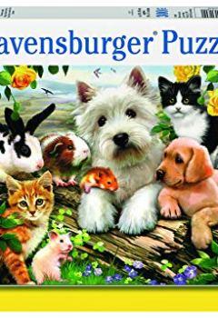 Livres Couvertures de Ravensburger Happy Animal Buddies 300PC puzzle