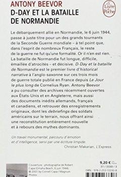 Livres Couvertures de D-Day et la bataille de Normandie